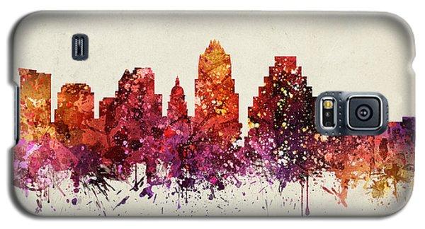 Austin Cityscape 09 Galaxy S5 Case by Aged Pixel