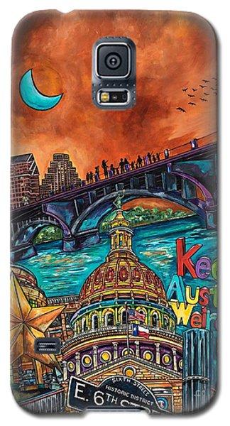 Austin Keeping It Weird Galaxy S5 Case by Patti Schermerhorn
