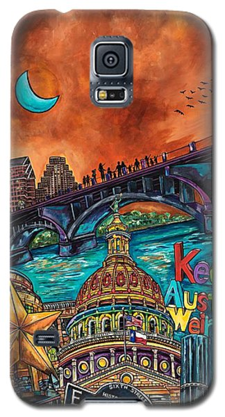 Austin Keeping It Weird Galaxy S5 Case