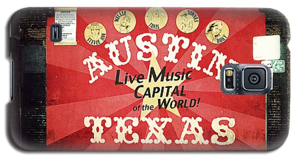 Austin Live Music Galaxy S5 Case by Trish Mistric