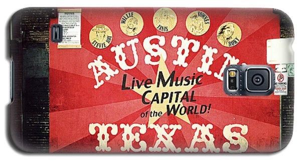 Austin Live Music Galaxy S5 Case