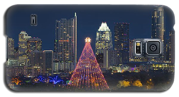 Austin Panorama Of The Trail Of Lights And Skyline Galaxy S5 Case