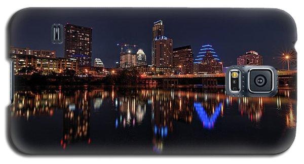 Austin Skyline At Night Galaxy S5 Case