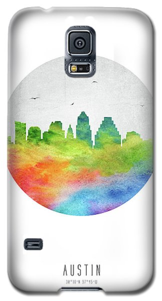 Austin Skyline Ustxau20 Galaxy S5 Case by Aged Pixel