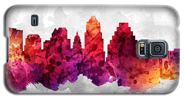 Austin Texas Cityscape 14 Galaxy S5 Case by Aged Pixel
