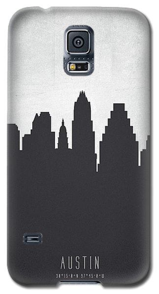 Austin Texas Cityscape 19 Galaxy S5 Case by Aged Pixel