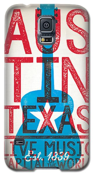 Austin Texas - Live Music Galaxy S5 Case by Jim Zahniser