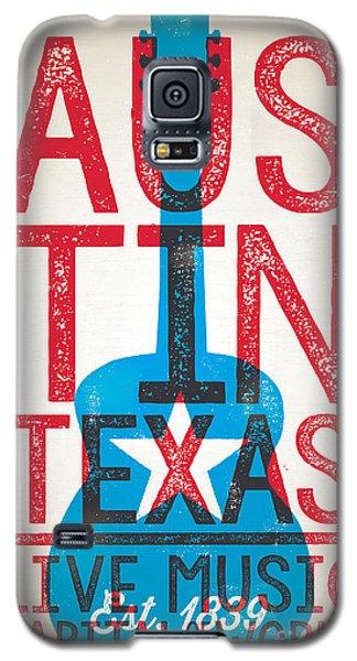 Austin Texas - Live Music Galaxy S5 Case