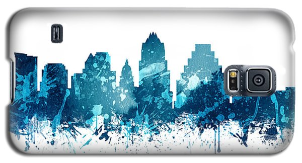 Austin Texas Skyline 19 Galaxy S5 Case by Aged Pixel