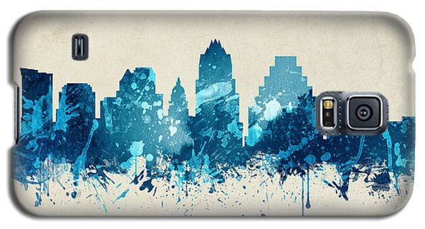 Austin Texas Skyline 20 Galaxy S5 Case by Aged Pixel
