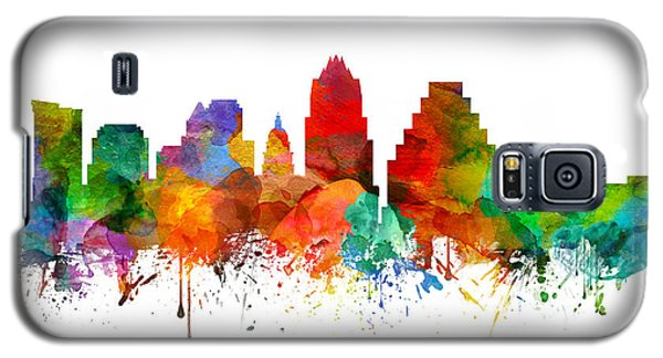 Austin Texas Skyline 21 Galaxy S5 Case by Aged Pixel