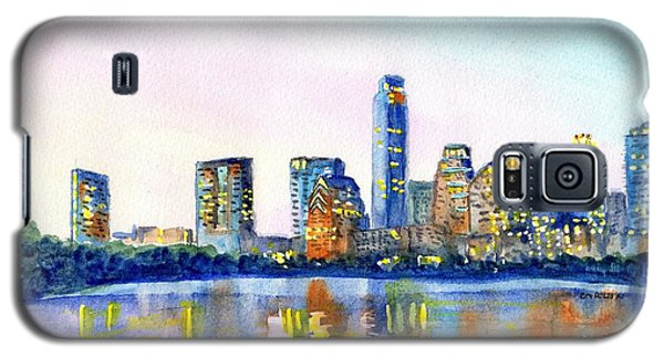 Austin Texas Skyline Galaxy S5 Case