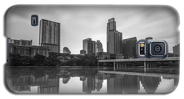 Austin Texas Skyline Reflecting In Ladybird Lake Long Exposure Galaxy S5 Case
