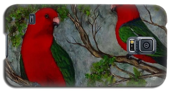 Australian King Parrot Galaxy S5 Case by Renate Voigt