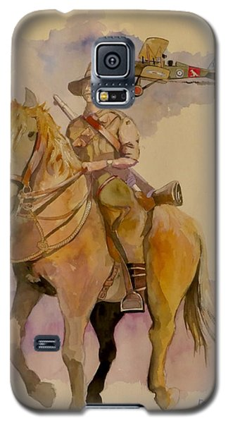 Australian Light Horse Regiment. Galaxy S5 Case by Ray Agius