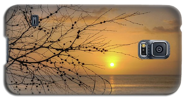 Galaxy S5 Case featuring the photograph Australian Sunrise by Geraldine Alexander