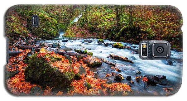 Autumn Along Bridal Veil Galaxy S5 Case