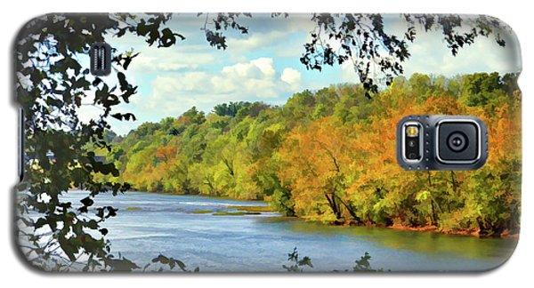 Autumn Along The New River - Bisset Park - Radford Virginia Galaxy S5 Case