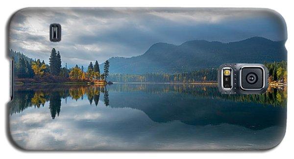 Autumn Along The Pend Oreille River Galaxy S5 Case