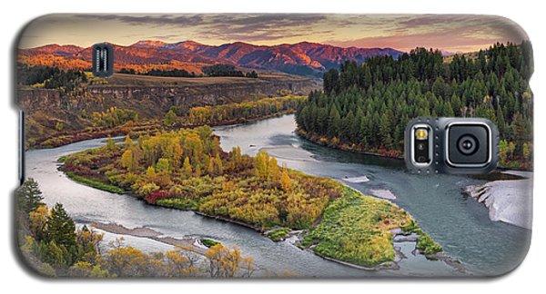 Autumn Along The Snake River Galaxy S5 Case