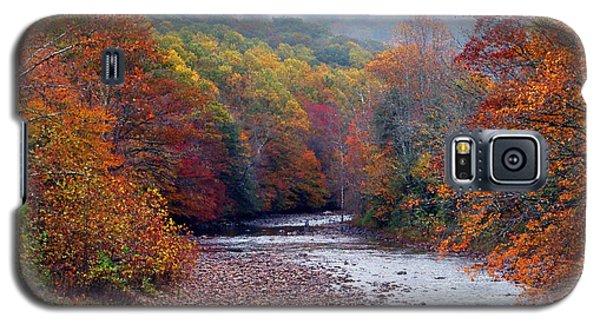 Autumn Along Williams River Galaxy S5 Case
