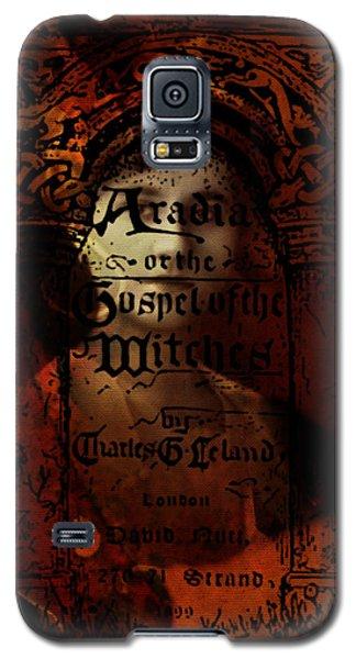 Autumn Aradia Witches Gospel Galaxy S5 Case