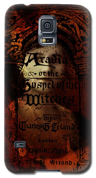 Autumn Aradia Witches Gospel Galaxy S5 Case