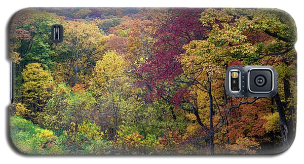 Galaxy S5 Case featuring the photograph Autumn Arrives In Brown County - D010020 by Daniel Dempster