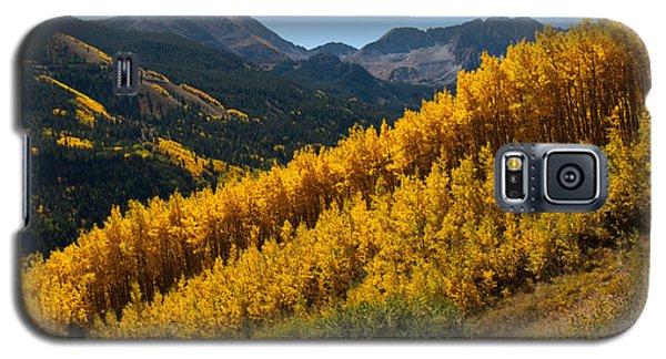 Autumn Aspen Near Castle Creek Galaxy S5 Case