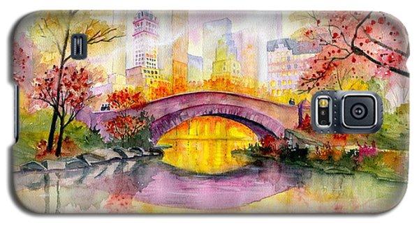 Autumn At Gapstow Bridge Central Park Galaxy S5 Case