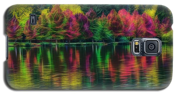 Autumn At Green Lake Seattle Galaxy S5 Case