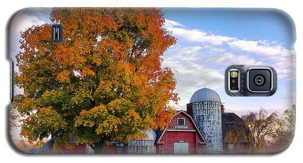 Autumn At Lusscroft Farm Galaxy S5 Case by Mark Miller