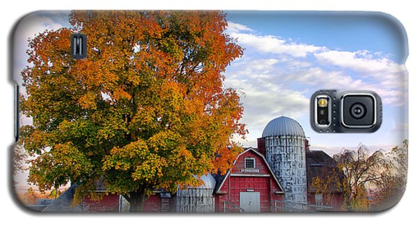 Autumn At Lusscroft Farm Galaxy S5 Case