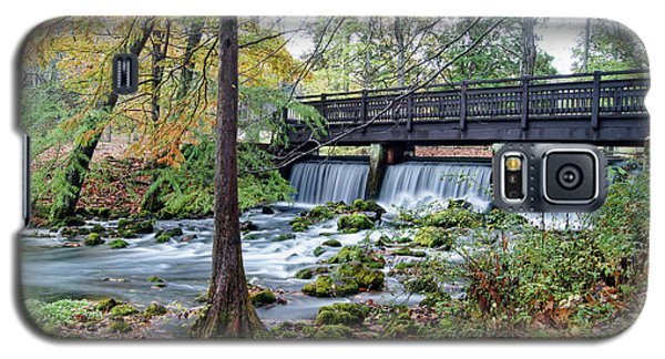Galaxy S5 Case featuring the photograph Autumn At Maramec Spring by Cricket Hackmann