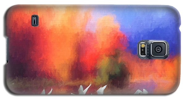 Autumn At Rivers Edge Galaxy S5 Case