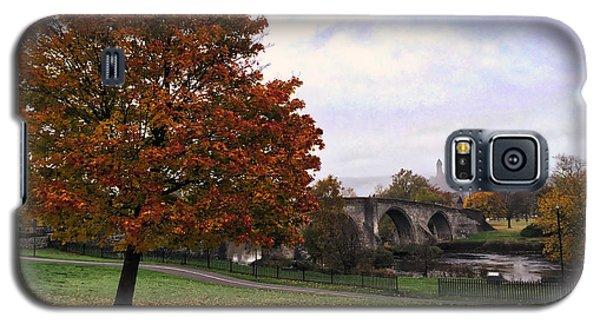 Autumn At Stirling Bridge Galaxy S5 Case