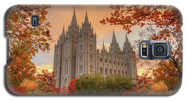 Autumn At Temple Square Galaxy S5 Case