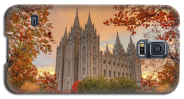 Autumn At Temple Square Galaxy S5 Case