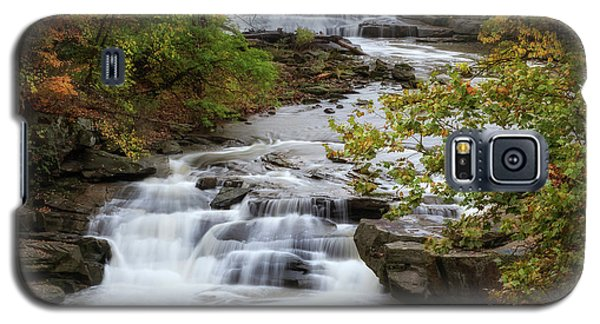 Galaxy S5 Case featuring the photograph Autumn At The Falls by Dale Kincaid