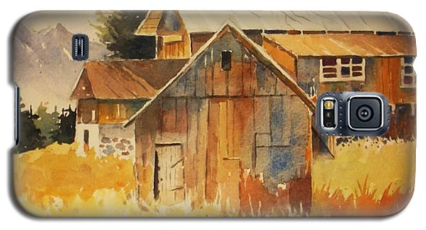 Autumn Barn And Sheds Galaxy S5 Case