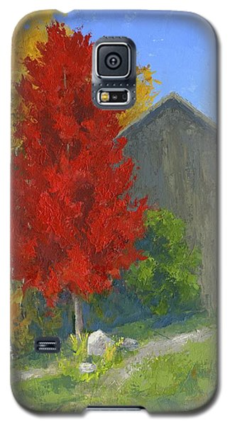Autumn Barn Galaxy S5 Case