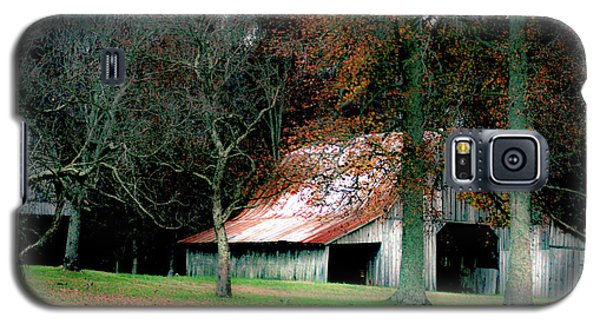 Autumn Barn In Alabama Galaxy S5 Case