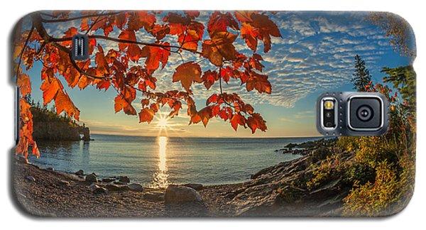 Autumn Bay Near Shovel Point Galaxy S5 Case