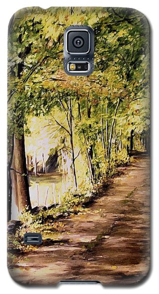 Autumn Begins In Underhill Galaxy S5 Case by Laurie Rohner