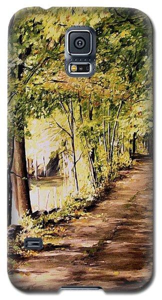 Autumn Begins In Underhill Galaxy S5 Case