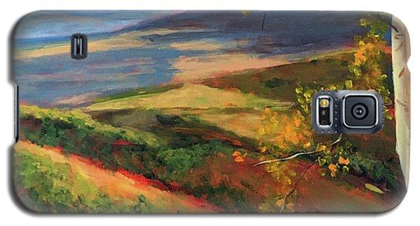 Autumn Birches Galaxy S5 Case