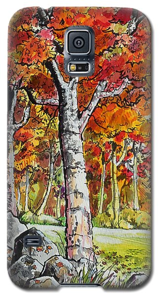 Autumn Bloom Galaxy S5 Case by Terry Banderas