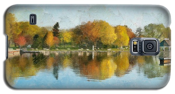 Autumn Blues Galaxy S5 Case