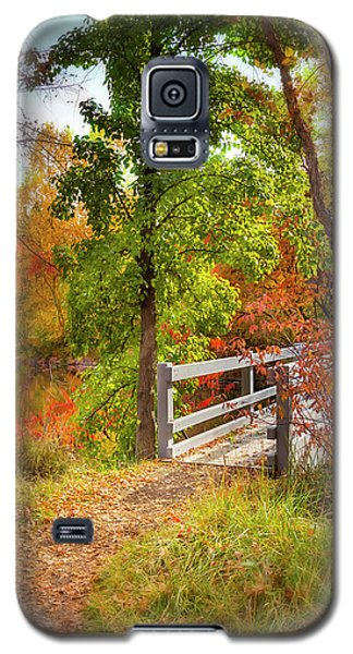 Autumn Bridge Galaxy S5 Case