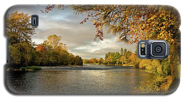 Autumn By The River Ness Galaxy S5 Case